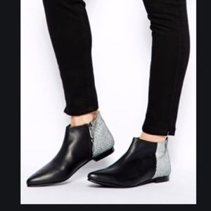 Won Hundred Anthropologie black booties 39